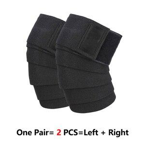 Image 5 - Roegadyn joelheira elástica de 2m, levantamento de peso, fitness, suporte para joelho, braçadeira para treinamento pesado