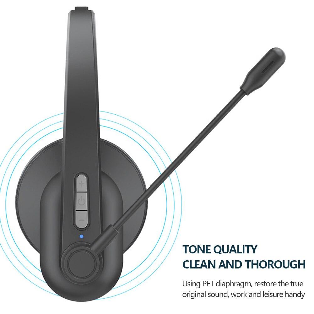 de carregamento microfone handsfree sem fio fone