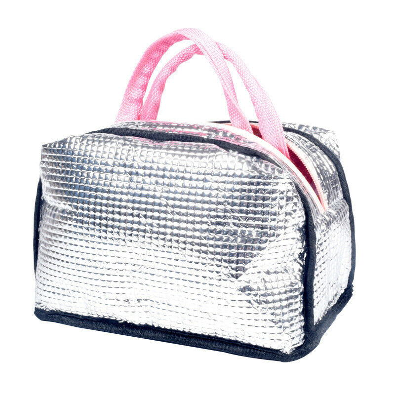 Adult Kids Lady Lunch Bag Reusable School Flamingo Insulated Waterproof Bags Out