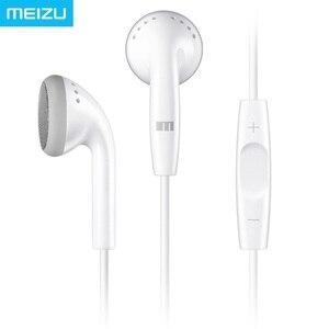 Image 2 - Oryginalne słuchawki Meizu EP21 z pilotem i mikrofonem najlepsze na telefon z systemem Android HIFI