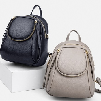 Genuine Leather Backpacks Women Luxury Soft Real Cow Leather Backpack Girls Black Fashion Bagpack Female Designer Backpack#ql201 new cow genuine leather men backpacks fashion real natural leather student backpack boy luxury brand lager computer laptop bag