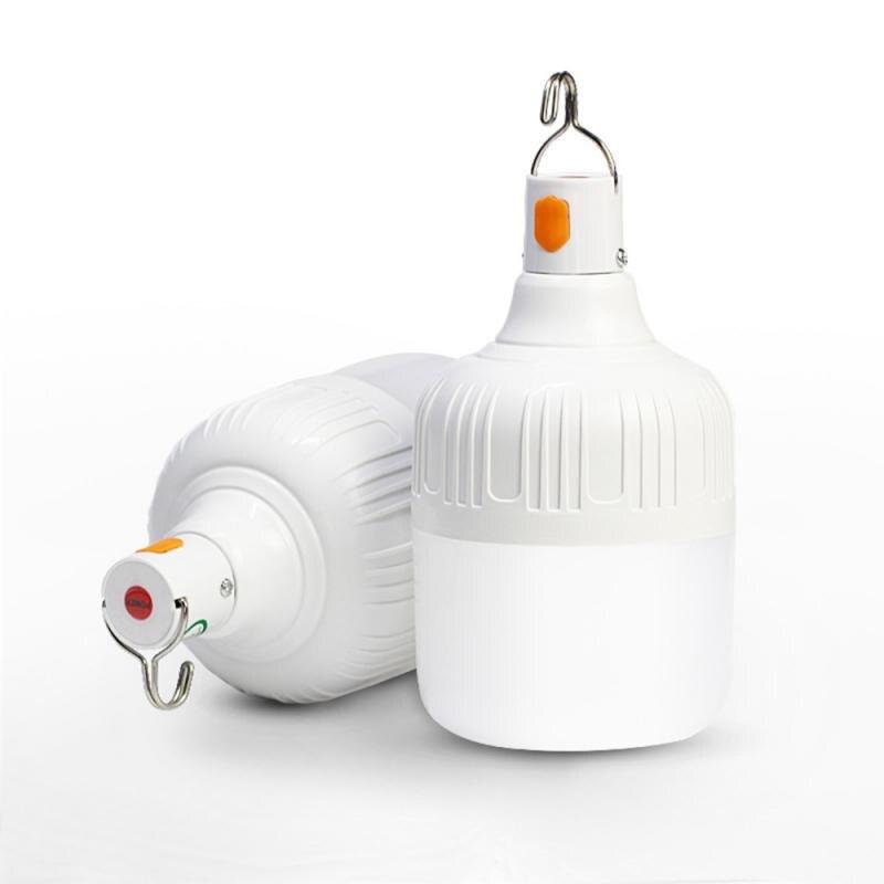 40 Вт USB Перезаряжаемый светодиодный фонарь с крюком 18650, подвесной Ночной светильник, аварийный светильник, уличный садовый кемпинговый тент, светильник Портативные фонари      АлиЭкспресс