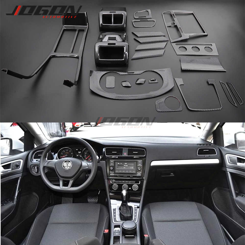 Car Interior Trim Central Console Gear Shift Dashboard Air Vent Outlet Trim For Vw Golf 7 Mk7 Mk7 5 R Gti Gte Gtd Vii 2013 2018 Aliexpress