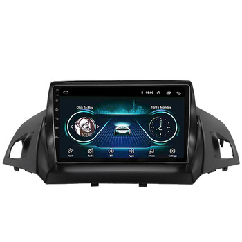 цена на 9 inch 2 din Car Multimedia Player Android 8.1  Wifi GPS Navigation For Ford Kuga 2 Escape 3 2013 2014 2015 2016