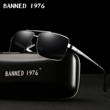BANNED Fashion Sunglasses Men Polarized Sunglasses Men Drivi