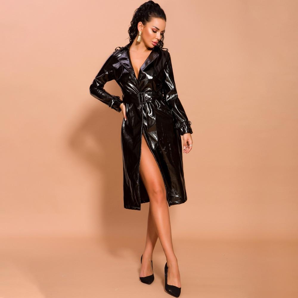2 couleurs Sexy robe noir mode boîte de nuit robes de soirée femmes automne hiver rouge célébrité élégant robes de grande taille S-XL