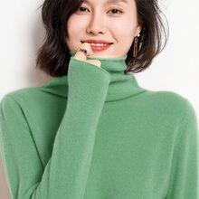 100% чистый кашемировый свитер для женщин ворсом с круглым вырезом