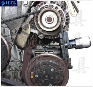Image 2 - Auto Motor Zahnriemenabdeckung Zahnriemenspannungsmesser Universal Garage Für Auto Reparatur Werkzeug