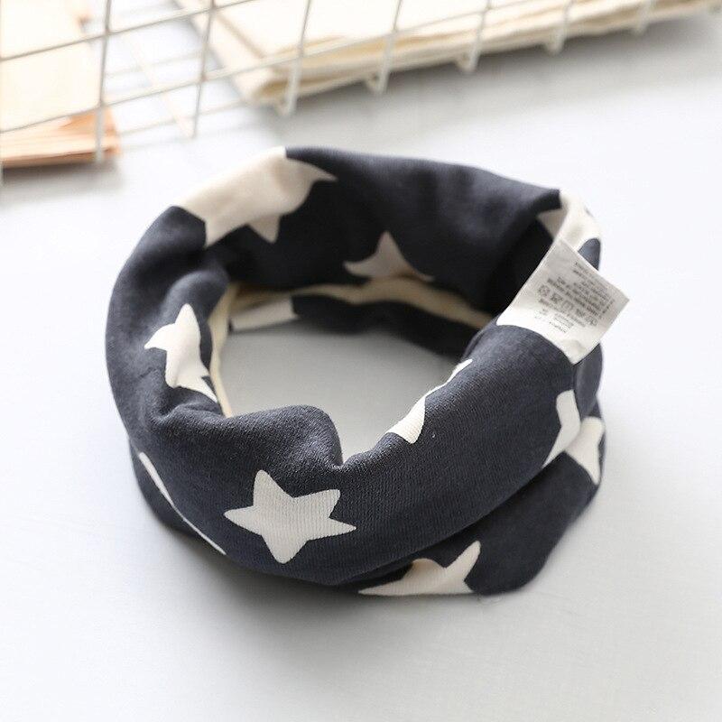 Осенне-зимний детский хлопковый плюшевый шарф, детский шарф для девочек, шарфы для мальчиков и девочек, детский воротник, детский волшебный шейный платок с круглым вырезом