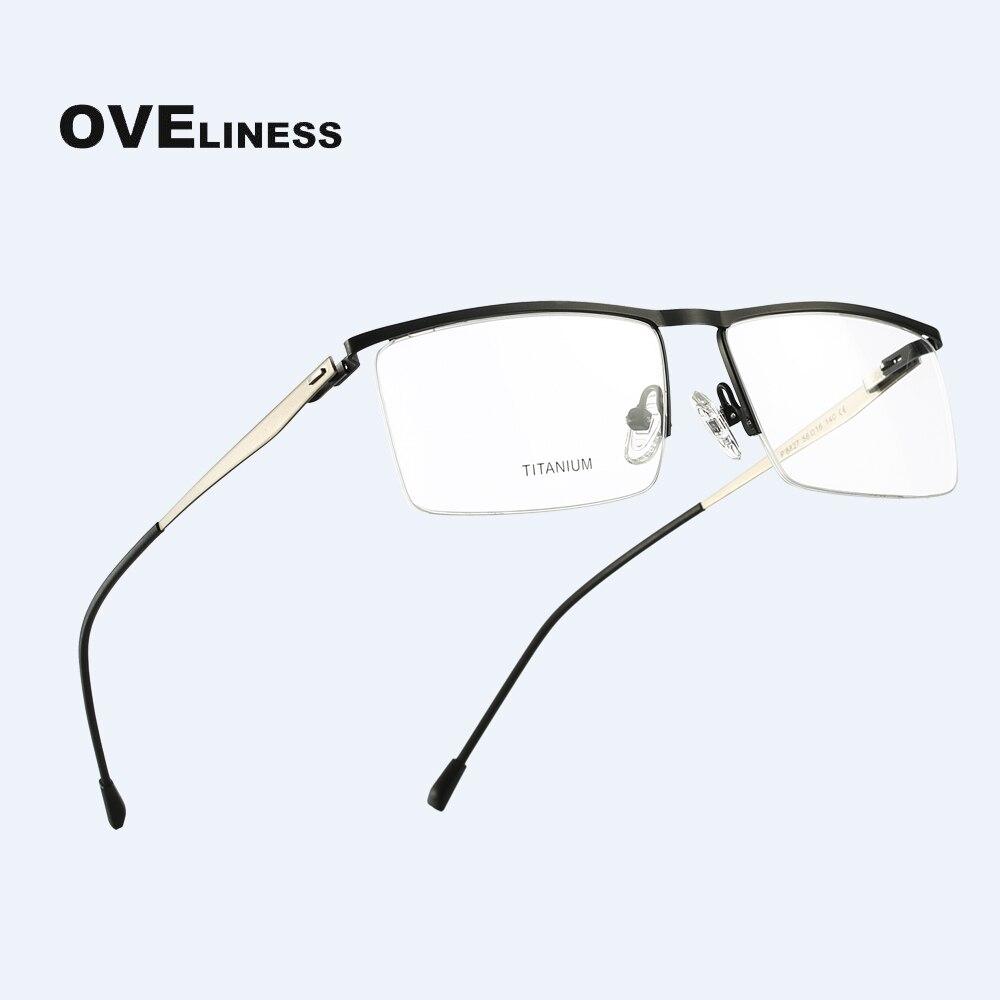 Titanium Alloy Glasses Frame Men 2020 Optical Computer Myopia Prescription  Glasses Ultralight Square eyeglasses eyewear frams|Men's Eyewear Frames| -  AliExpress