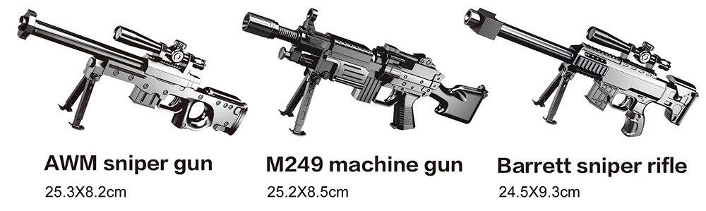 Of Rifle Emission Soft Bullet Military Model-Emission Bullet Toy Gun