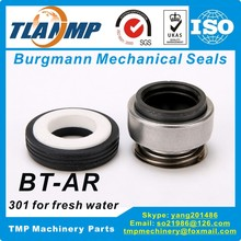 Burgmann Mechanical-Seals Bt-Ar-Seal 301-16M Replacement of Material:carbon/ceramic/nbr