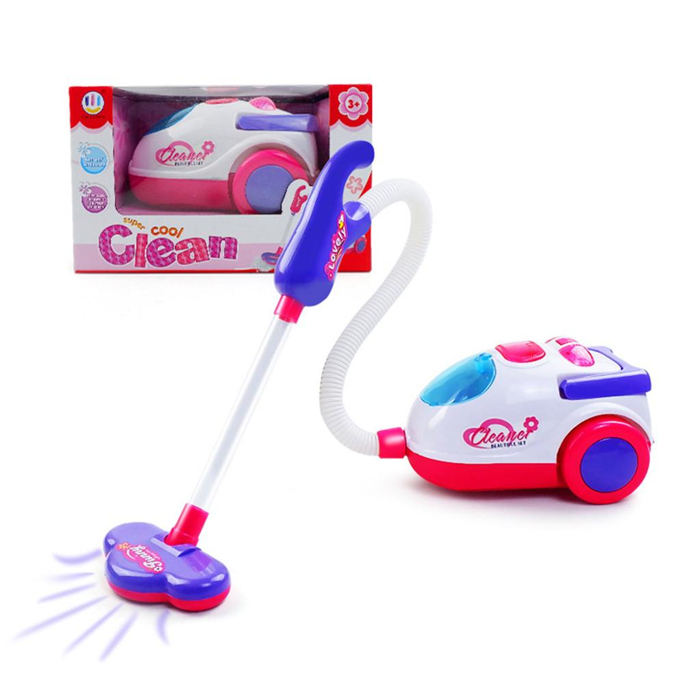 Children's Electric Mini Vacuum Cleaner With Real Working Function Kids Educational Toys