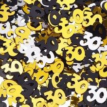 15 звёзд, смешанные цвета, ПВХ, золотые звезды, мини 30 40 50 60 70, конфетти, счастливый день рождения, праздничные аксессуары