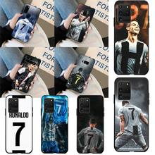 CUTEWANAN CR7 Cristiano Ronaldo Phone Case Cover for