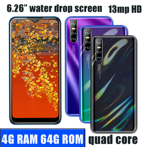 M21s 4G RAM Android Smart phones 64G ROM Quad Core13MP HD Face ID 6.26inch Water Drop Screen unlocked celulares Mobile Phone