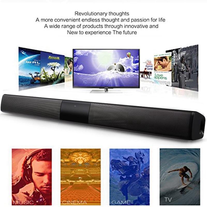 VTIN BS28B Wireless Bluetooth Soundbar Speaker TV Home Theater Soundbar Subwoofer with RCA 3D Stereo Surround Sound Speaker (30)