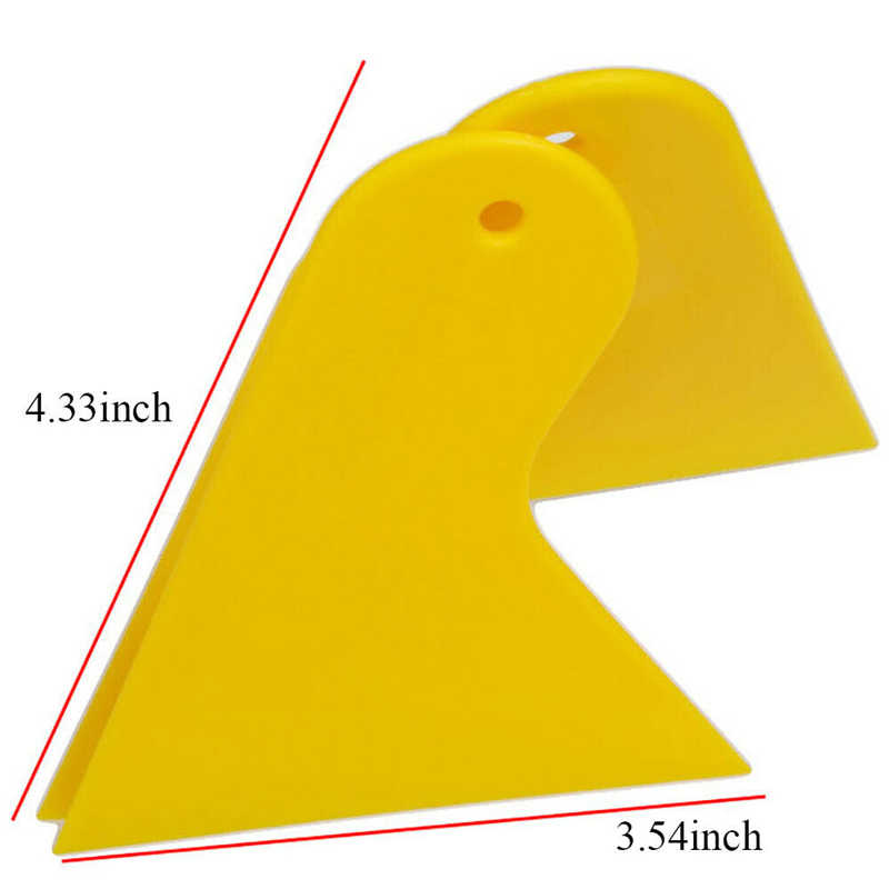 Triangle Small Scraper Car Stickers Decal Mobile Phone Film Wrap Tool Glass Cleaning Auto Motorcycle Car Accessories Car Styling