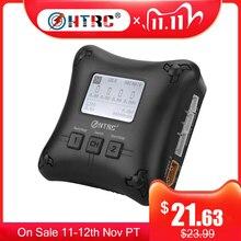 RC Caricatore HTRC H4AC DUO Mini Dual Port Lipo Charger 20w x2 2A x2 per 2 4s lipo Batteria di Ricarica Caricatore di Batteria Professionale
