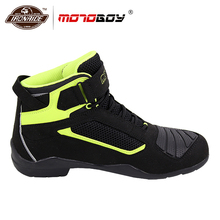 Мотоботы; Мужская мотоциклетная обувь для мотокросса; ботинки для гонок по бездорожью; мотоботы; сетчатая мотоциклетная обувь для лета