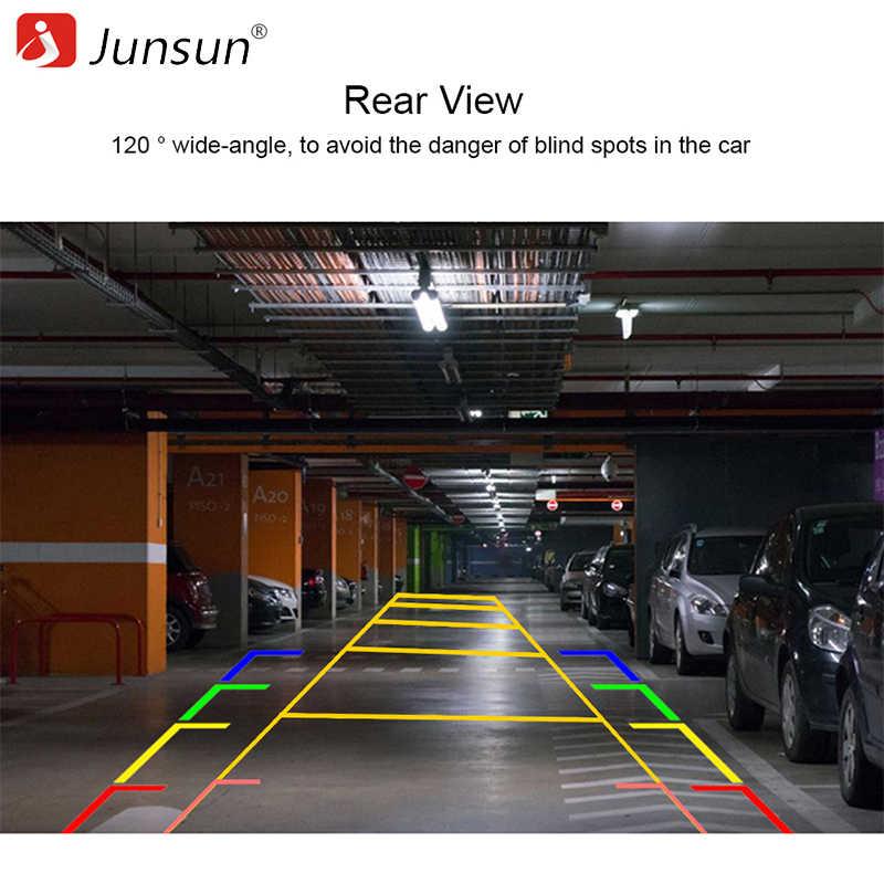 Junsun voiture vue arrière caméra 960P résolution étanche 120°grand Angle caméra de recul caméra de stationnement pour DVD