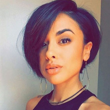 Pixie Cut Wig Bob Lace Front Wigs Short Bob Wig 13×6 Lace Front Human Hair Wigs For Black Women Preplucked Lace Wig Brazilian