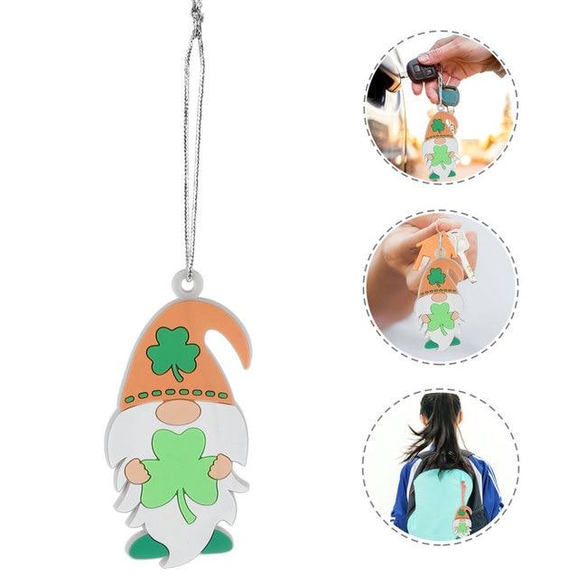 Saint Patrick's Day Hanging Ornament Backpack Key Chain Ornament Festival Decor 1