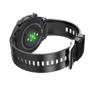 Image 5 - Montre connectée de sport pour hommes, étanche IP67, avec appels vocaux, fréquence cardiaque, pression artérielle, oxygène, lampe de poche, pour téléphone, MV55