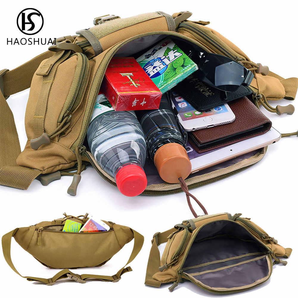 ยูทิลิตี้ยุทธวิธีเอวแพ็คเอวกระเป๋าทหารเดินป่ากลางแจ้งกระเป๋าเข็มขัดกระเป๋า Fanny เอวแพ็ค