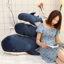 1 Pcs 55/80/115cm Big Size Funny Bite Soft Toy Shark Toy Plush Pillow Appease Cushion Gift for Children Kid Baby Doll Girl Gift high quality big size white shark plush doll 100% pp cotton shark plush stuffed pillow toy doll baby toy birthday gift baby gift