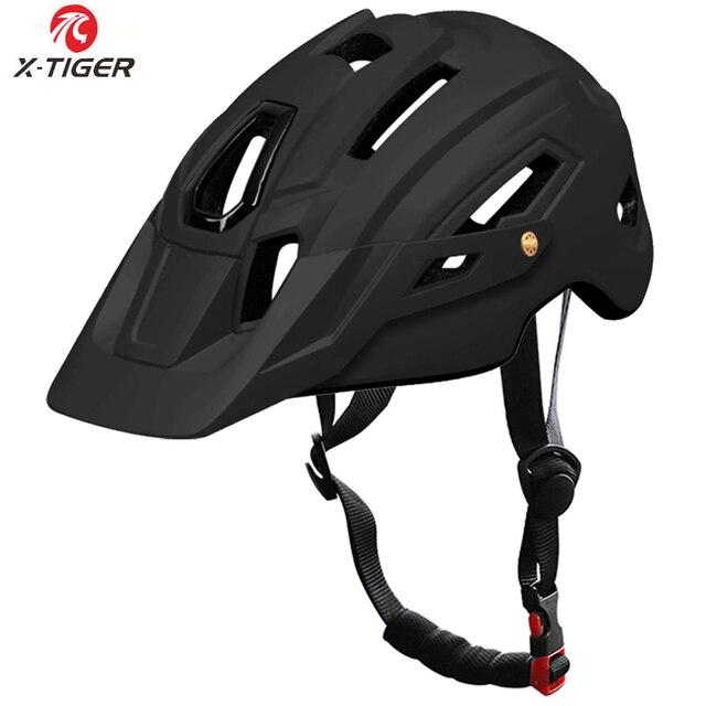 X-TIGER capacete de ciclismo trail xc capacete de bicicleta in-mold mtb capacete da bicicleta de estrada de montanha capacetes de segurança das mulheres dos homens 3
