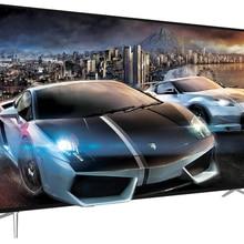 Grand écran LCD intelligent 4k LED pour télévision, Android, wi-fi, 75, 85, 95, 100 pouces