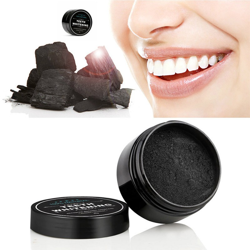 Personal Care Activated Carbon Powder Tooth Cleaning Tooth Powder Teeth Whitening Toothbrush Black Tooth Powder Oral Cleaning