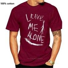 Neuheit Coole Tops T Shirt Slenderman Lassen Mich Allein Creepypasta Verschiedene Groben/Farben Männer Design Oansatz T Shirts