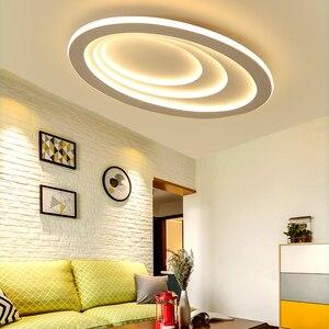 Image 1 - Plafonnier led à haute luminosité, design moderne, éclairage dintérieur, luminaire de plafond, montage en surface, idéal pour un salon, une chambre détude ou un bureau