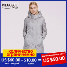 Coat Hooded-Jacket Parka Spring Autumn Large Women's Windproof Casual New MIEGOFCE Zipper