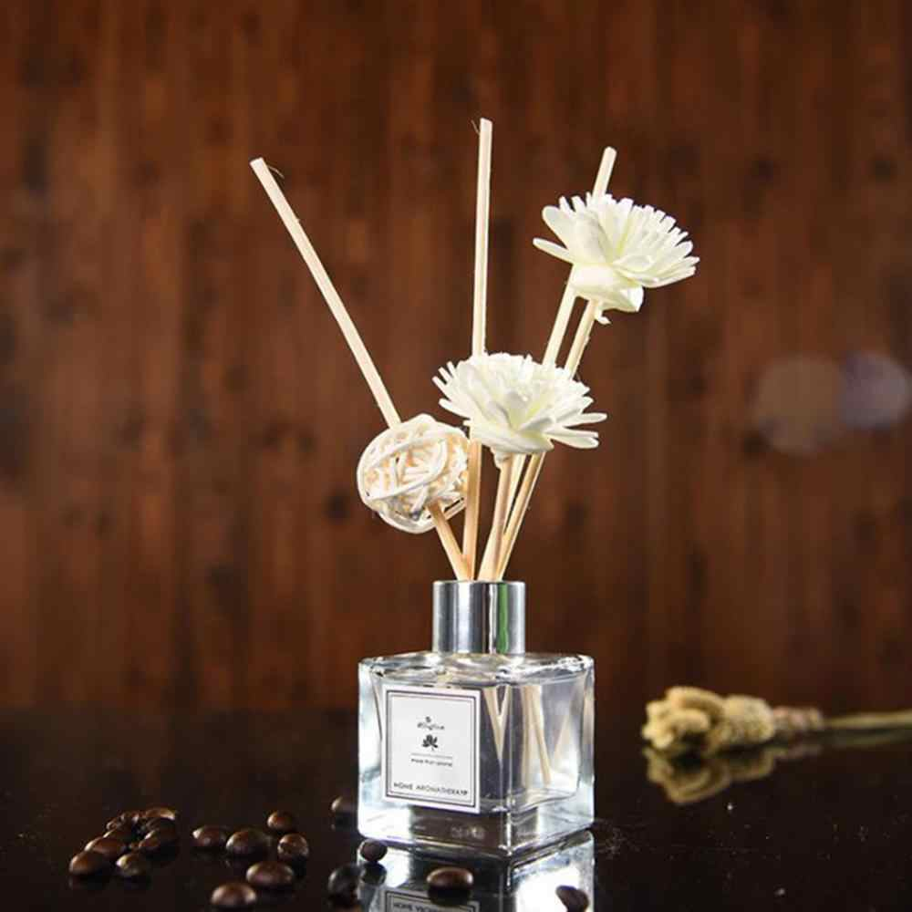 50ml ขวด Air Fresher Essential Oil Reed Flameless Diffusers น้ำมันหอมระเหยบรรเทา Sleep Air Freshener Home Decor
