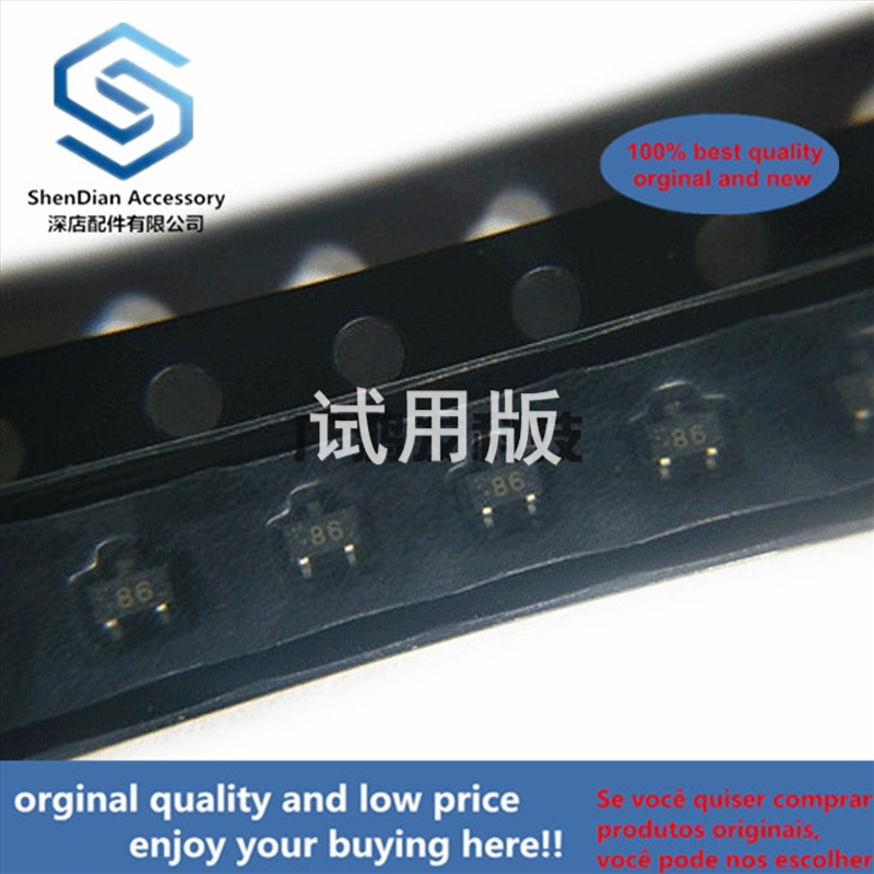 10pcs 100% Orginal New Best Qualtiy 2SC5186-T1-A SOT-523 NPN EPITAXIAL SILICON TRANSISTOR IN ULTRA SUPER MINI-MOLD PACK In Stock