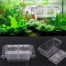 Incubator Breeding-Box Fish-Tank Small Hatch-Box Plastic Transparent