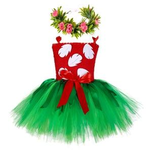 Image 1 - Hawaii Hula Lilo Bé Gái Tutu VÁY ĐẦM Bé Sơ Sinh Bé Gái Hula Luau Sinh Nhật Đầm Halloween Lilo Trang Phục Trang Phục Với Dây Đeo Đầu