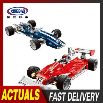 XINGBAO Lepining TECHNIC Series Racing Car The F1 Noble Super Car Model Kit Building Blocks Educational Toys For Children Gifts technic series speed koenigseggs racing car model kit building blocks toys for children compatible lepining 23002 bricks gifts