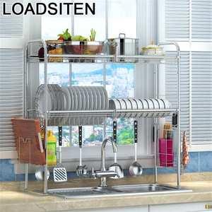 Kitchen-Organizer Sink Organizador-Rack Stainless-Steel Vaisselle De Cozinha Mutfak Cocina