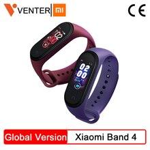 In Magazzino Xiao mi mi fascia 4 Smart mi Fascia 4 frequenza cardiaca fitness Tracker 135 Mah Bluetooth 5.0 50 M Impermeabile AI Intelligente Wristband