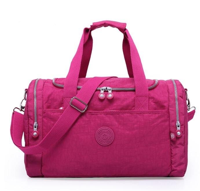 2019 TEGAOTE grande capacité sacs de voyage femmes sac de voyage en Nylon Portable sac à main plié fourre-tout femme week-end grands sacs