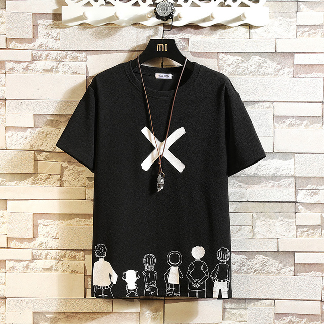 Short Sleeve T Shirt Men 2021 Summer High Quality Tshirt Top Tees Classic Brand Fashion Clothes Plus Size M-5XL O NECK 4
