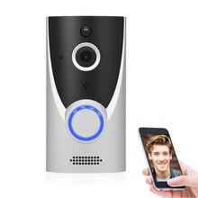 WiFi Video kapı zili 1080P HD kablosuz Video interkom iki yönlü ses ev güvenlik kamerası kızılötesi IR Video kapı zili