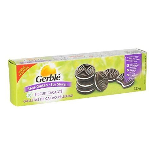 Gerblé - Cocoa Biscuit Stuffed With Cream - 125g