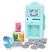 Детский игровой автомат-головоломка, машина для попкорна и напитков, игрушечный Поппер, игрушечный набор со звуком и светильник