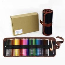 36/48/72 Colors Oily Color Pencils Professional Colored Pencils Drawing Set Wooden Colorful Pens To Paint Children Art Supplies