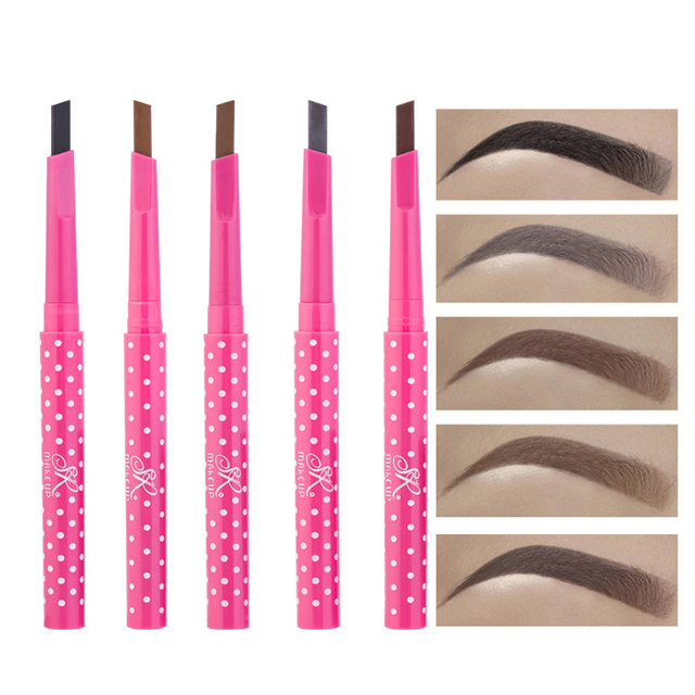 5 Color Eyebrow Extension Pencil Waterproof Henna Eyebrow Tattoo Pen Long Lasting Makeup Eye Brow Tint Enhancer Beauty Cosmetics